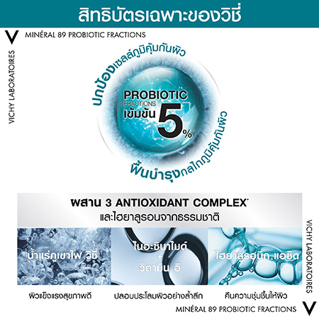 M89 Probiotic Fraction, Vichy mineral 89 รีวิว